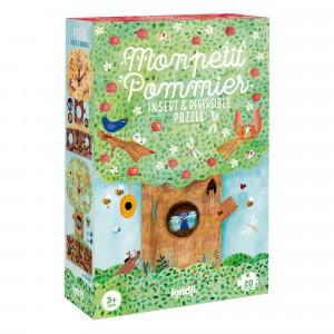 Londji Omkeerbare & Interlocking Puzzel 'Mon Petit Pommier'
