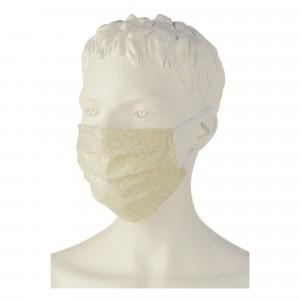 Engel Wasbare Mondmaskers (5-pack) Gebroken Wit met print