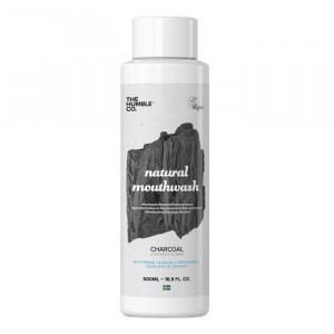 Humble Brush Mondwater Charcoal met Actieve Kool