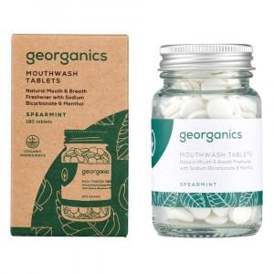 georganics Mondwatertabletten - Spearmint (180 stuks)