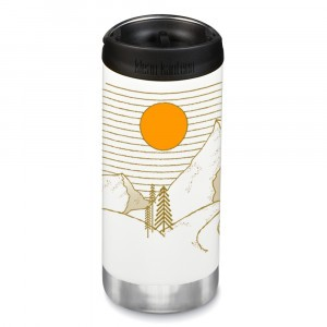 Klean Kanteen Thermosbeker TKWide met Café Cap (355 ml) Limited Edition 'Mountain'