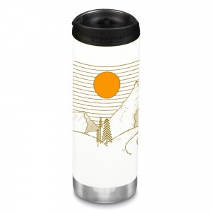 Klean Kanteen Thermosbeker TKWide met Café Cap (473 ml) Limited Edition 'Mountain'