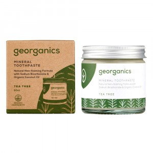 georganics Natural Tandpasta - Tea Tree (60 ml)