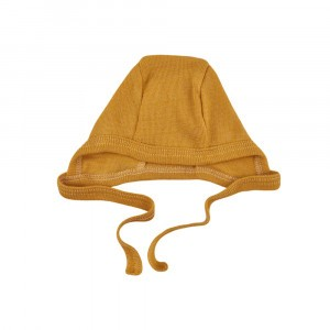 Forgaminnt Amber Yarn Mutsje Mustard Sunset