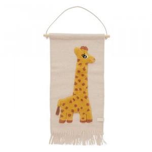 Oyoy Muurtapijt Giraffe