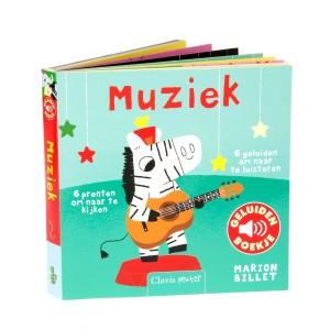 Clavis Geluidenboekje Muziek