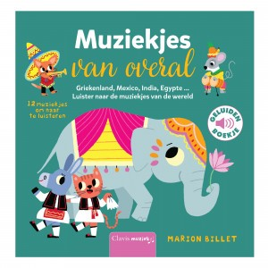 Clavis Geluidenboekje Muziekjes van overal