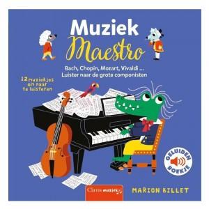 Clavis Geluidenboekje Muziek Maestro