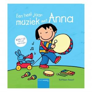 Clavis Muziekboek + CD 'Een heel jaar muziek met Anna'