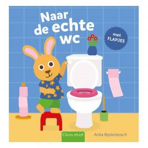 Clavis Flapjesboek Naar de echte wc
