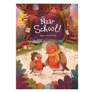 Clavis Leesboekje Naar school!