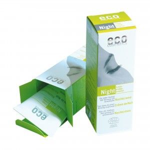Eco Cosmetics Nachtcrème met granaatappel en ginseng 50ml