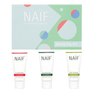 "Naïf Grown Ups Cadeauset ""Skinny Dip Kit"" (Shampoo, Conditioner, Shower Gel)"
