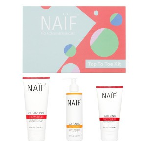 "Naïf Grown Ups Cadeauset ""Top To Toe Kit"" (Body lotion, Body Scrub, Shower Gel)"