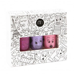 Nailmatic Set van 3 nagellakjes City ( Sheepy, Cookie, Kanako)