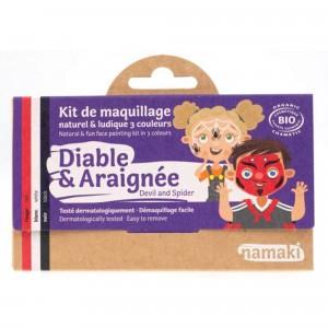 "Namaki Grimeerverf  Kit 3 Kleuren ""Duivel & Spin"""