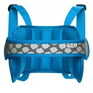 NapUp Hoofdsteun Autostoel Blauw