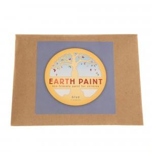 Natural Earth Paint Eco-vriendelijke Verf voor kinderen Blauw