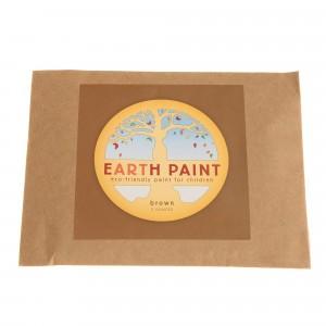 Natural Earth Paint Eco-vriendelijke Verf voor kinderen Bruin