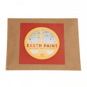 Natural Earth Paint Eco-vriendelijke Verf voor kinderen Rood