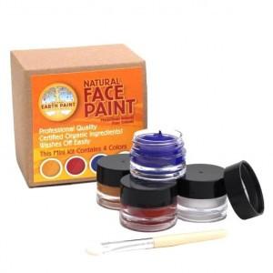 Natural Earth Paint Eco-vriendelijke Gezichtsverf Kit Mini