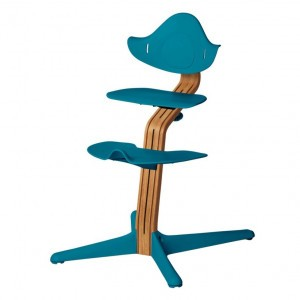 Nomi Highchair Ocean / Oiled Oak