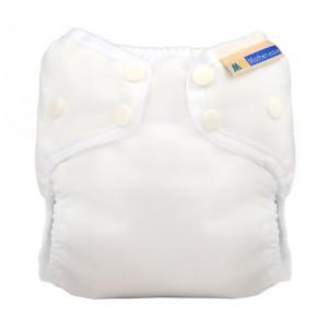 Mother ease Newborn Luier Wizard Uno Organisch Katoen (3-6 kg) White