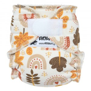 Anavy Newborn Luier met Velcro Autumn (2-6 kg)
