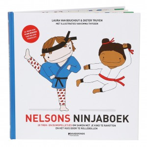 Davidsfonds Spelletjesboek - Nelsons Ninjaboek