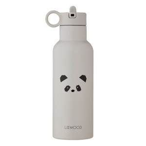 Liewood Neo Thermische Drinkbus Panda Light Grey