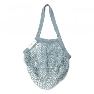 Liewood Mesh Tote Bag Sea Blue