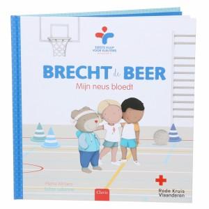 Clavis Boek Brecht de Beer - Mijn neus bloedt