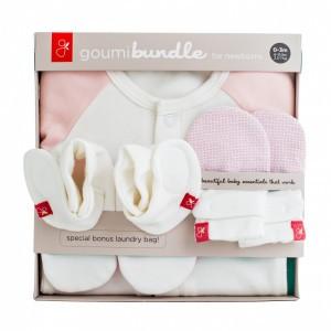 Goumikids Newborn Set Drops Roze 0-3m