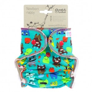Petit Lulu Luier Newborn Monsters (2-6kg)