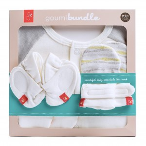 Goumikids Newborn Set Wave Grijs 0-3m