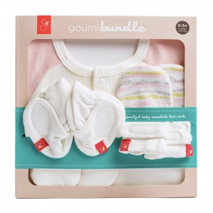 Goumikids Newborn Set Wave Roze 0-3m