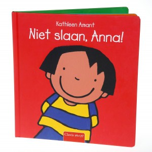 Clavis Leesboekje Niet slaan, Anna!