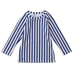Liewood UV T-Shirt Lange Mouwen Stripe Blauw