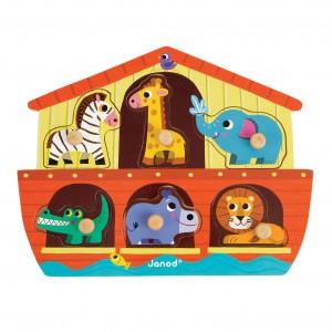 Janod Houten Puzzel Noah's Ark