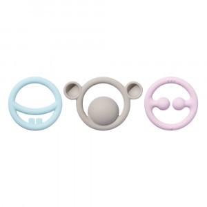 Moluk Nigi, Nagi & Nogi Set (Pastel Kleuren)