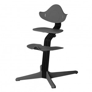 Nomi Highchair Grey / Black