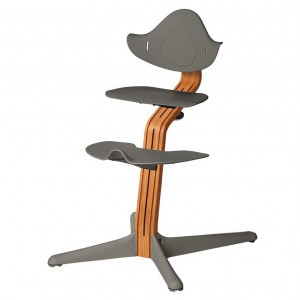 Nomi Highchair Anthracite/ Oiled Oak