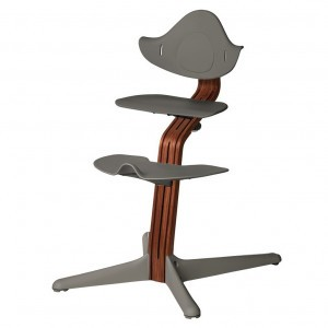 Nomi Highchair Anthracite / Oiled Walnut