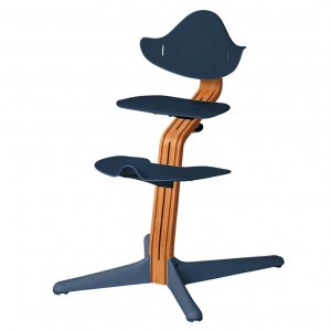 Nomi Highchair Navy / Oiled Oak