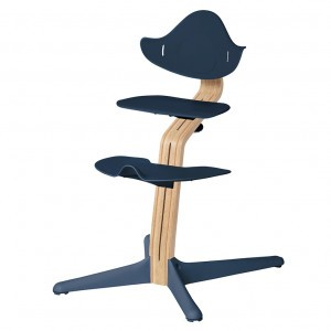Nomi Highchair Navy / White Oiled