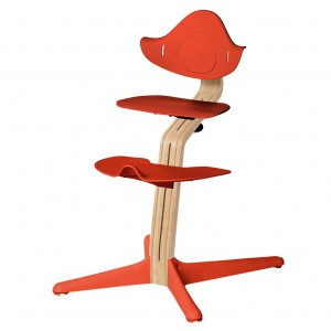 Nomi Highchair Burnt Orange / White Oiled