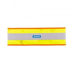 Wowow Reflecterende Band Nutty Wrap It Yellow