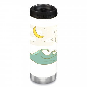 Klean Kanteen Thermosbeker TKWide met Café Cap (473 ml) Limited Edition 'Coast'