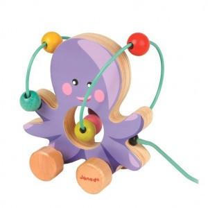 Janod Mini Looping Octopus