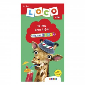 Zwijsen Oefenboekje Loco Mini 'Ik lees' Kern 4-5-6